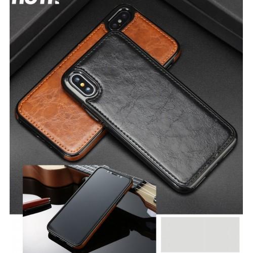 COVER Custodia elegante in pelle fashion antiurto per apple iphone X XR XS Max