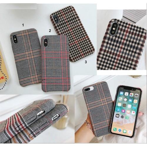COVER Custodia elegante tessuto fashion antiurto per apple iphone X XR XS Max