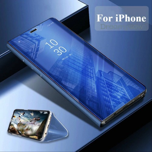 COVER Custodia intelligent smart view per apple iphone 6 7 8 Plus X XR XS Max