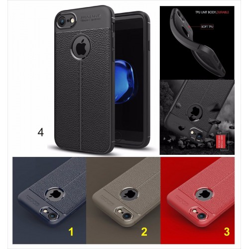 COVER Custodia silicone Anti-skid con parabordi per camera per iphone 8 Plus X