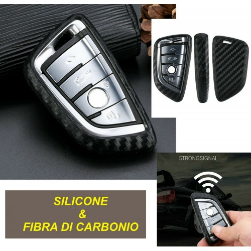 COVER PORTACHIAVE BMW X1 X4 X5 X6 540 740 750 1 2 5 218i TELECOMANDO silicone