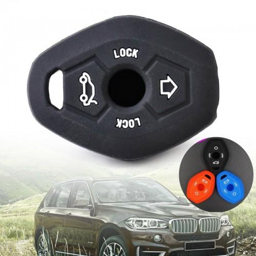 COVER antiurto per CHIAVE BMW Z3 Z4 X3 X5 3 5 7 TELECOMANDO protezione silicone