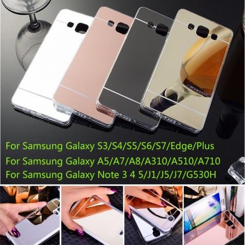 COVER custodia Case silicone back effetto specchio per modelli Samsung Galaxy