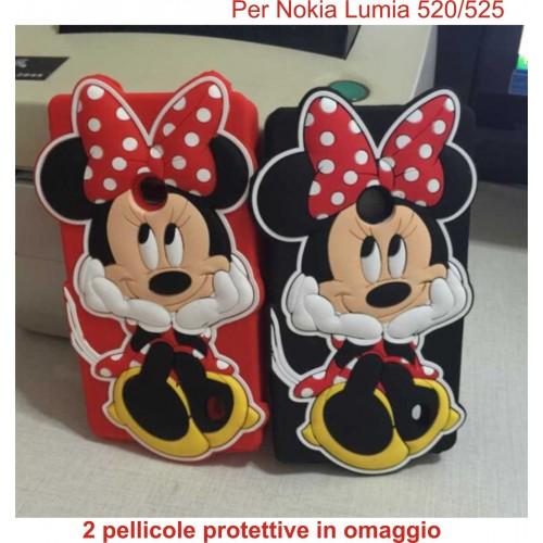 custodia cover case nokia lumia 520525 cartoon silicone