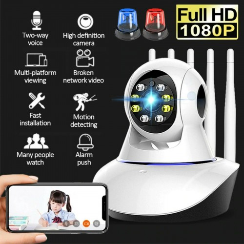 Camera wifi HD 720P 1080P AUDIO VIDEO SORVEGLIANZA BABY CONTROLLO SONNO NEONATO
