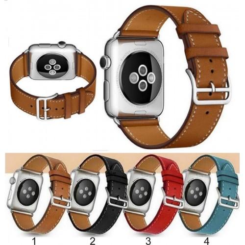 Cinturino in cuoio FASHION BRACCIALETTO BAND Ricambio per Apple Watch 38 / 42 mm