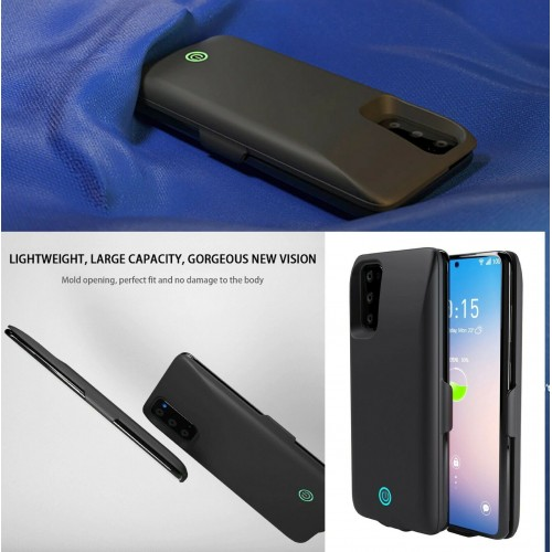 Cover Batteria per Samsung S20 Plus 7000 mah powerbank Ricaricabile carica