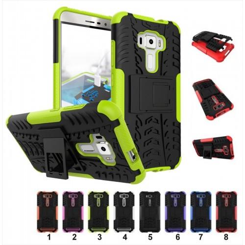Cover custodia CASE hybrid con supporto gommata per Asus Zenfone 3 ZE552KL