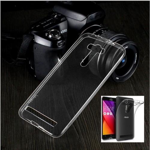Cover custodia Case Silicone 0.45 mm antiscivolo per Asus Zenfone selfie Zd551kl