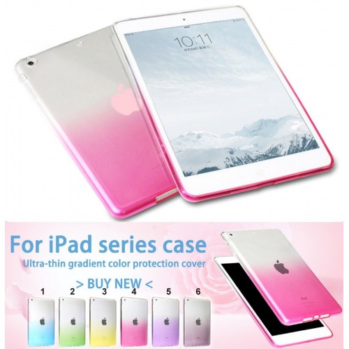 Cover custodia Case Silicone preformato per Apple IPad 1 2 3 4 mini Pro + vetro