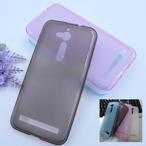 Cover custodia Case TPU 0.5 mm Silicone antiscivolo per Asus Zenfone Go ZB500KL