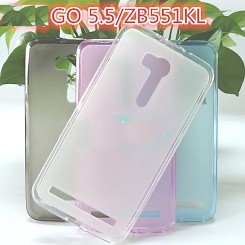 Cover custodia Case TPU 0.5 mm Silicone antiscivolo per Asus Zenfone Go ZB551KL