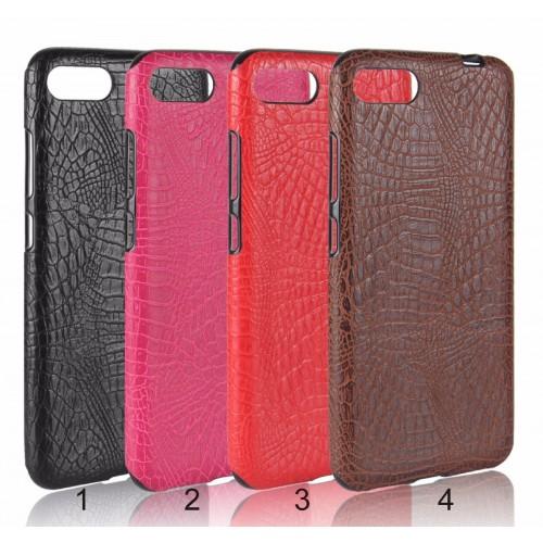 Cover custodia Case TPU effect cuoio coccodrillo per Asus Zenfone 4 Max ZC554KL
