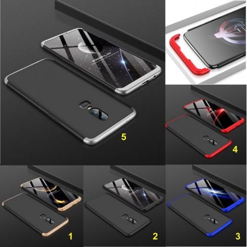 Cover custodia Case gomma dura antiurto hybrid para spigoli per OnePlus 6 5 5T