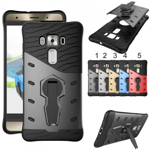Cover custodia Case hybrid con cavalletto per Asus Zenfone 3 deluxe ZS570KL