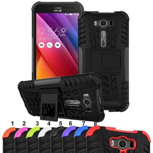 Cover custodia Case hybrid silcone per modelli Asus Zenfone 2 3 Max GO Laser