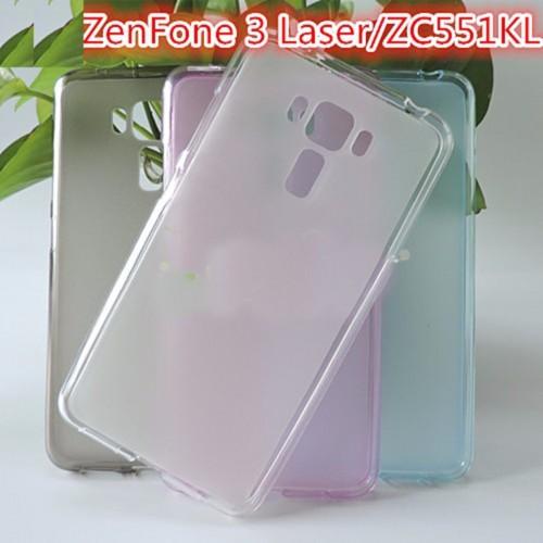Cover custodia Case in Silicone antiscivolo per Asus Zenfone 3 LASER ZC551KL