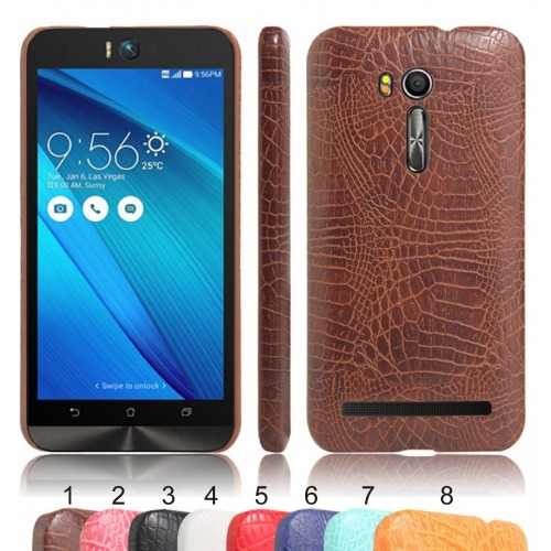 Cover custodia Case in pelle di coccodrillo Fashion per Asus Zenfone GO ZB551KL