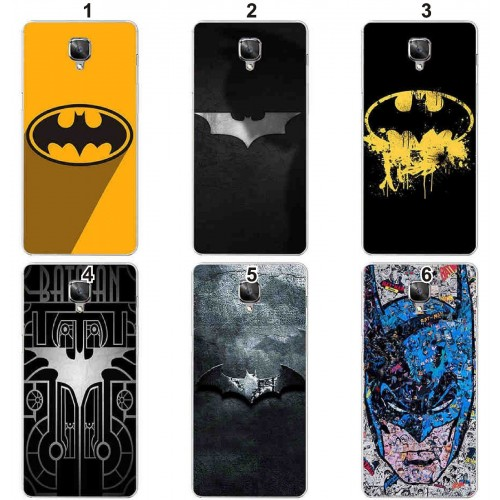 Cover custodia Case in plastica batman cartoni supereroi per OnePlus 5T 5 3T 3