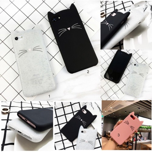 Cover custodia Case in silicone 3D gatto kitty orecchie per OnePlus 6 5T 5 3T 3