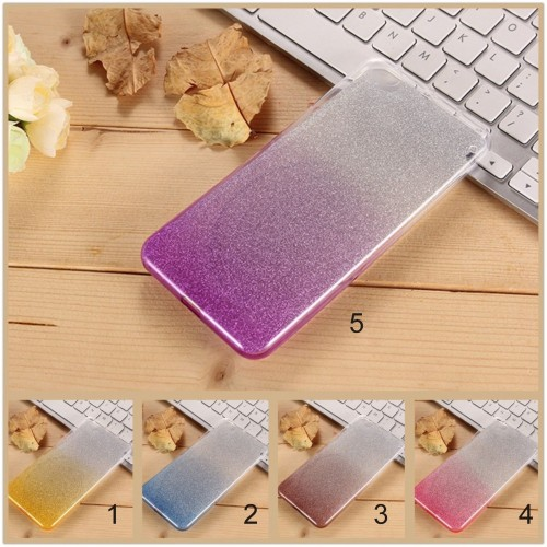 Cover custodia Case in silicone arcobaleno 0.5 mm per Asus Zenfone GO ZB551KL