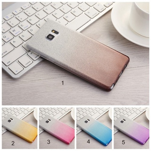 Cover custodia Case in silicone con bordo placcato per Asus Zenfone GO ZB551KL
