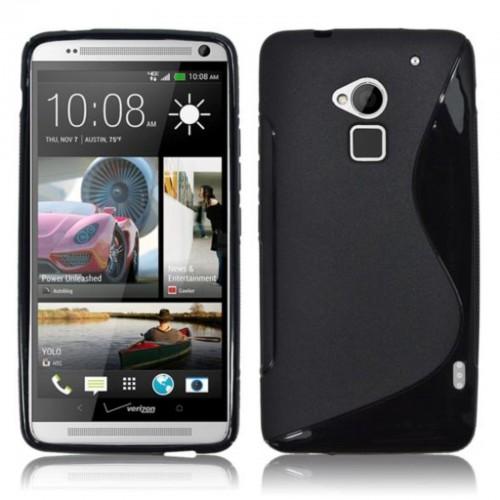 Cover custodia Case in silicone fashion 0.5mm para bordi per modelli HTC One Max