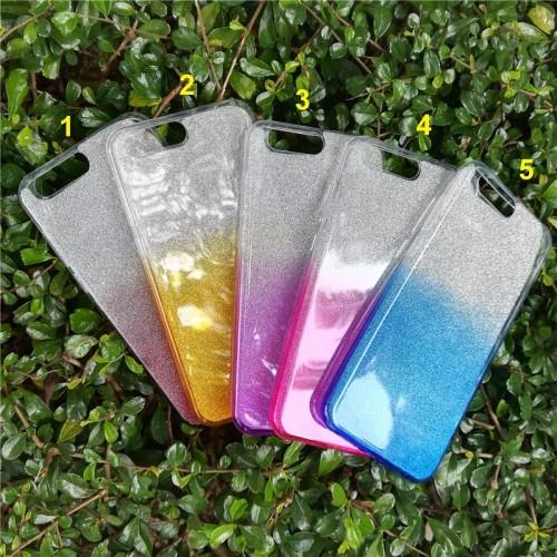 Cover custodia Case in silicone luccicante glitter per Asus Zenfone 4 ZE554KL