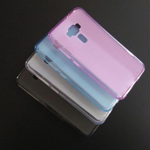 Cover custodia Case in silicone morbido antiscivolo per Asus Zenfone 3 ZE552KL