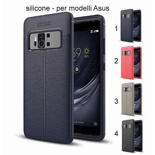 Cover custodia Case in silicone preformato antiscivolo per Asus Zenfone 4 & pro