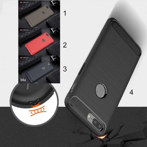 Cover custodia Case in tpu silicone para spigoli per modelli OnePlus 6 5T 5 3T 3