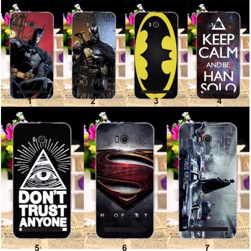 Cover custodia Case plastica fumetti batman superman per Asus Zenfone GO ZB551KL