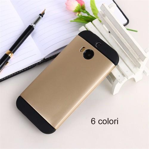 Cover custodia Case protezione plastica hybrid per HTC One M8 M9 desire 816 820