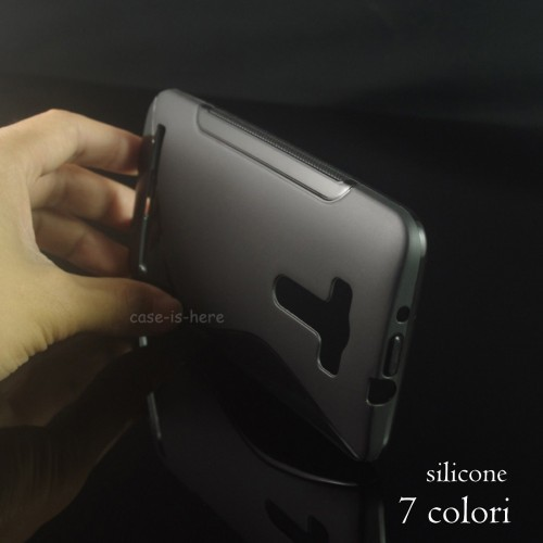 Cover custodia Case silicone 0.5mm Fashion elegante per Asus Zenfone GO ZB551KL