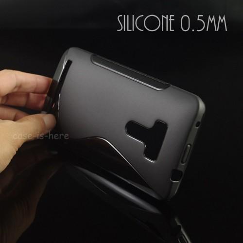 Cover custodia Case silicone Fashion Antiscivolo per Asus Zenfone selfie Zd551kl
