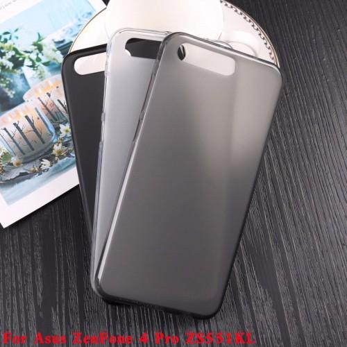 Cover custodia Case silicone antiscivolo 0.4mm per Asus Zenfone 4 Pro ZS551KL
