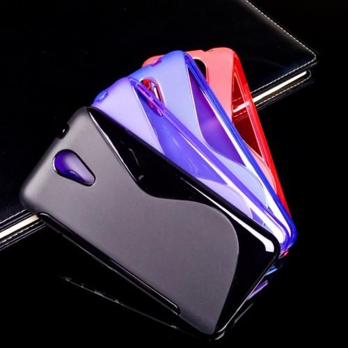 Cover custodia Case silicone antiscivolo 0.5 mm Fashion per HTC Desire 620G