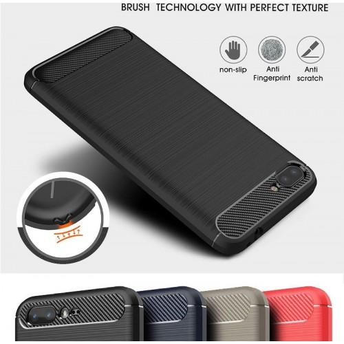 Cover custodia Case silicone antiscivolo in fibra per Asus Zenfone 4 ZE554KL