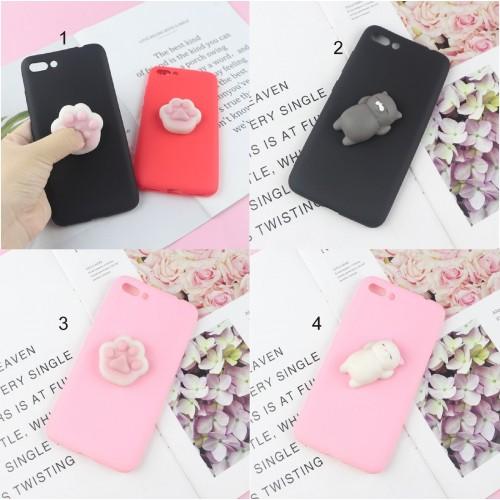 Cover custodia Case silicone antistress soft per Asus Zenfone 4 selfie PRO Max