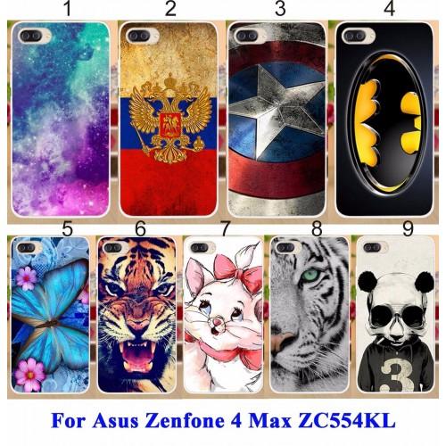 Cover custodia Case silicone batman cat tiger per Asus Zenfone 4 Max ZC554KL