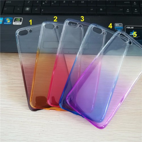 Cover custodia Case silicone colorato para bordi per Asus Zenfone 4 Max ZC554KL