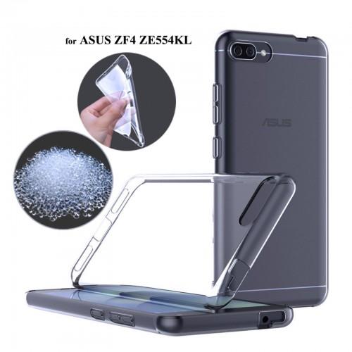 Cover custodia Case silicone con parabordi protezione per Asus Zenfone 4 ZE554KL