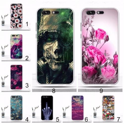Cover custodia Case silicone fiori scheletro x per Asus Zenfone 4 Pro ZS551KL