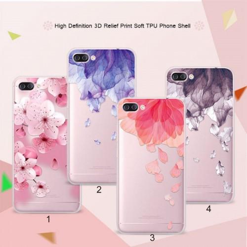 Cover custodia Case silicone floreale pizzo fiori per Asus Zenfone 4 Max ZC554KL