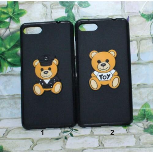 Cover custodia Case silicone orso teddy 3D per Asus Zenfone 4 selfie & PRO Max