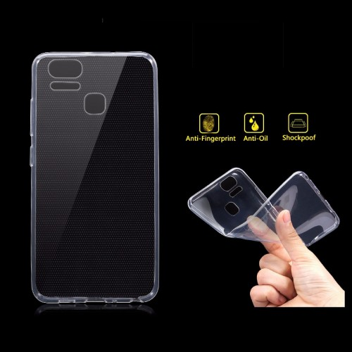Cover custodia Case silicone para bordi webcam per Asus Zenfone 3 S Zoom ZE553KL
