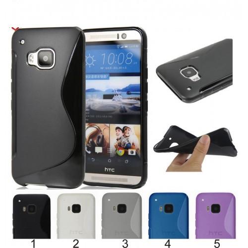 Cover custodia Case silicone para webcam spigoli per HTC One M7 M8 mini M9 M10