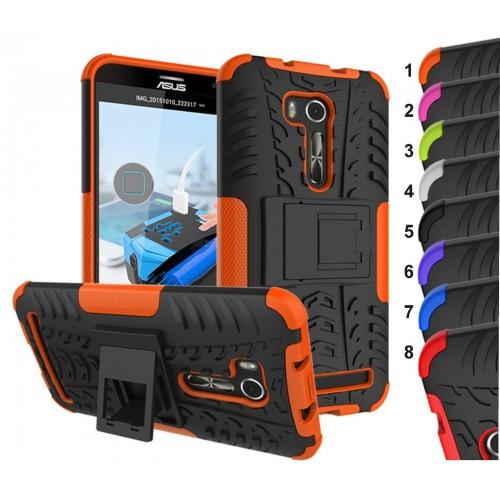 Cover custodia Case silicone pneumatico armatura per Asus Zenfone GO ZB551KL