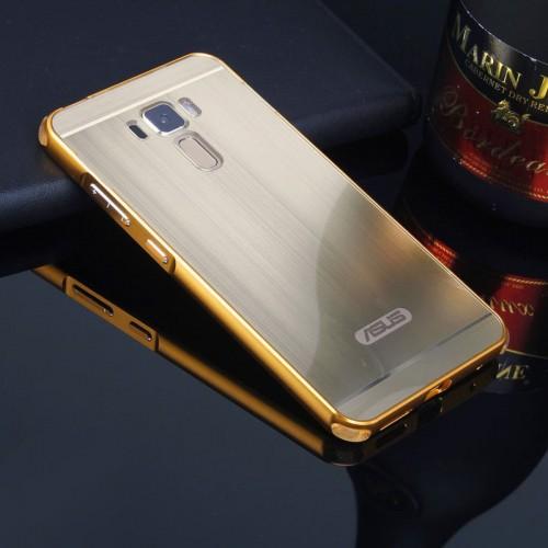 Cover custodia Case telaio alluminio back/acril per Asus Zenfone 3 Laser ZC551KL