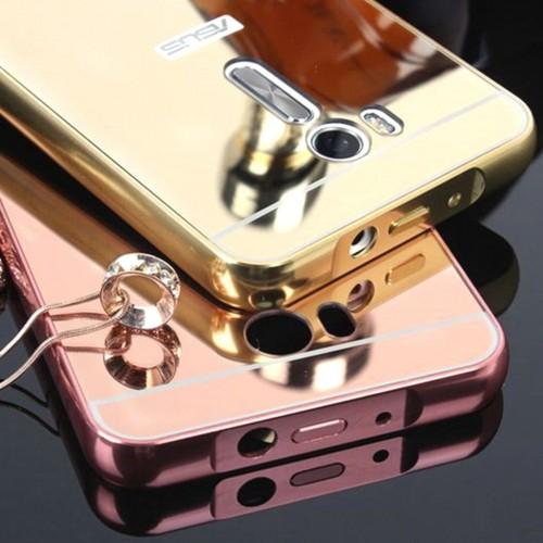 Cover custodia Case telaio alluminio retro acrilico per Asus Zenfone 2 3 GO Max